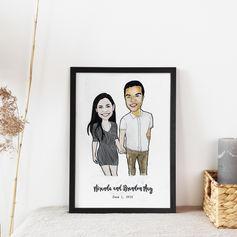 Couple Engagement Gift