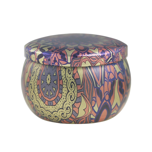 Abstract Lavender Scented Candle