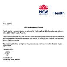 NSW Health Awards