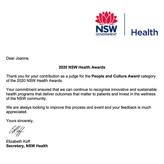 NSW Health Awards