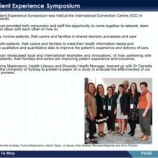 Patient Experience Symposium