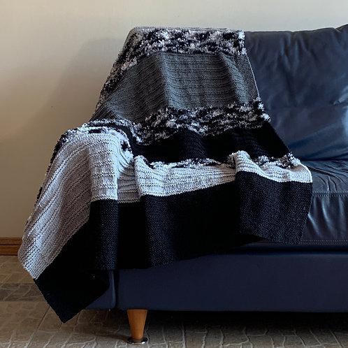 Monochrome Tones Blanket Throw