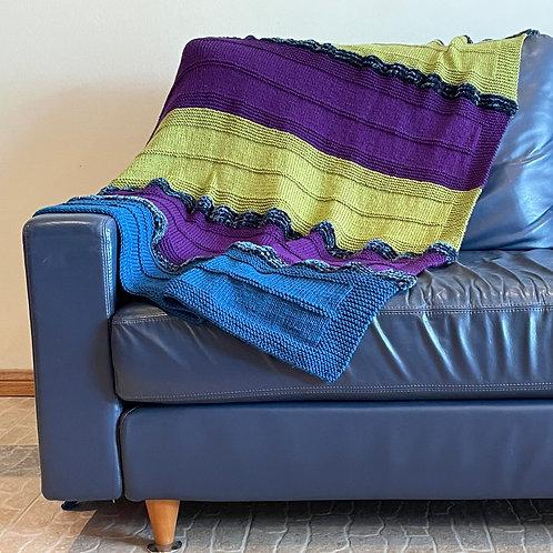 Brilliant Hues Throw Blanket