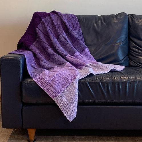 Purple Passion Throw Blanket