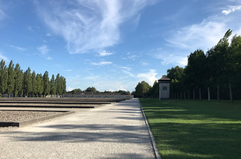 Dachau Concentration Camp. We don't have many photos – there's not much that a picture of the grounds can communicate about this place. Being there, however, and spending an afternoon in the museum, is a different story.