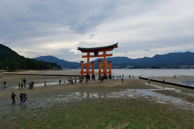 The Itsukushima Floating Torii Gate