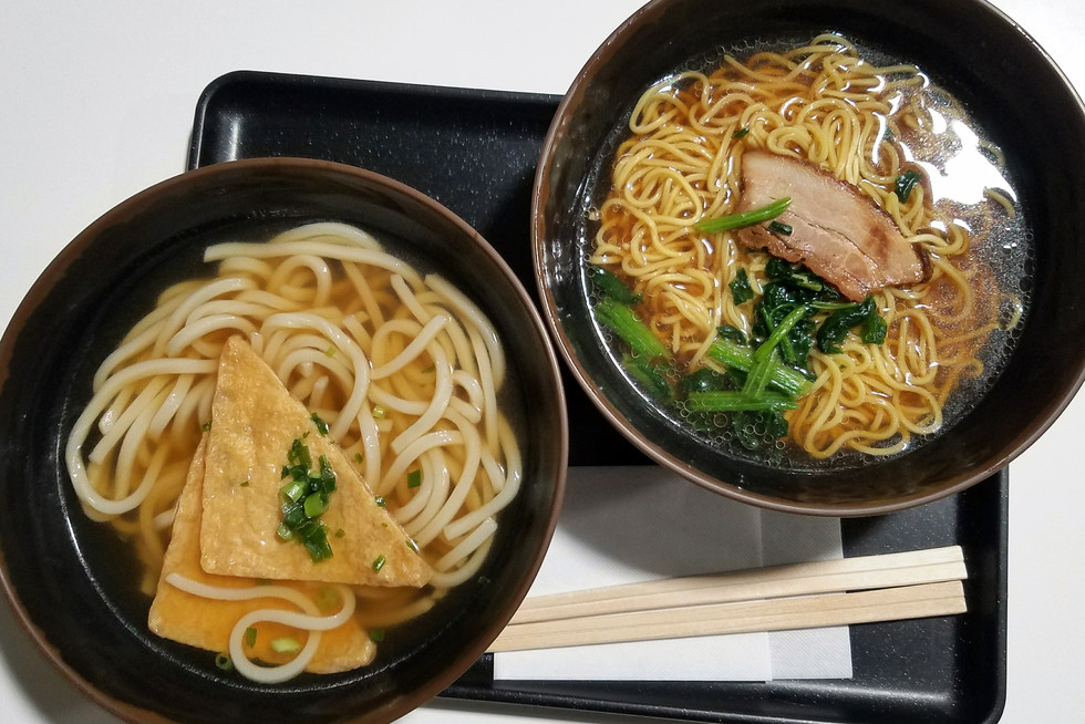 My last udon in Japan