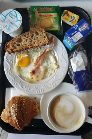 Giant breakfast in La Spezia