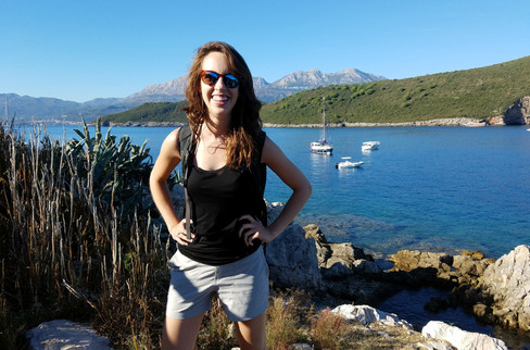Fort Mamula on the Adriatic