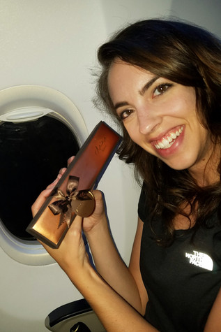 Fancy date box on the plane