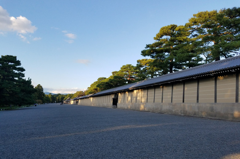We continued on to the Imperial Palace, which was closed.