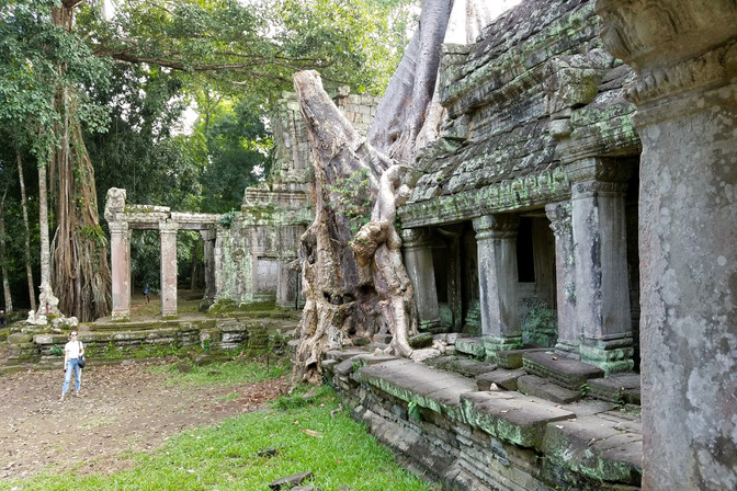 This temple was featured in Tomb Raider
