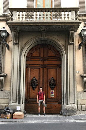 Brandon found some doors