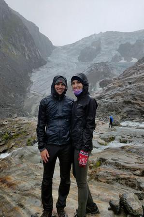 Glacier pose