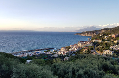 Back near Sorrento
