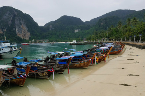 Back on Koh Phi Phi
