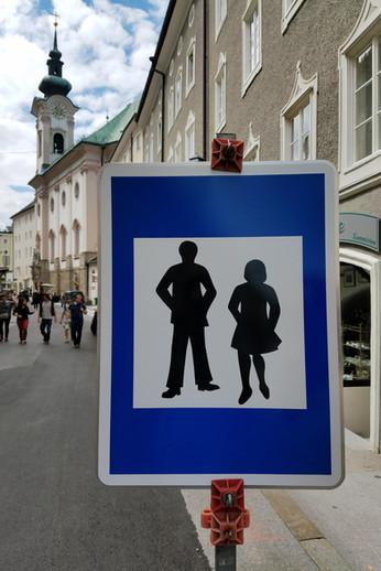 Fancy pedestrians