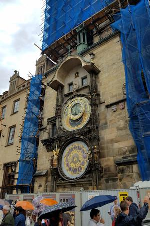 The famous astronomical clock