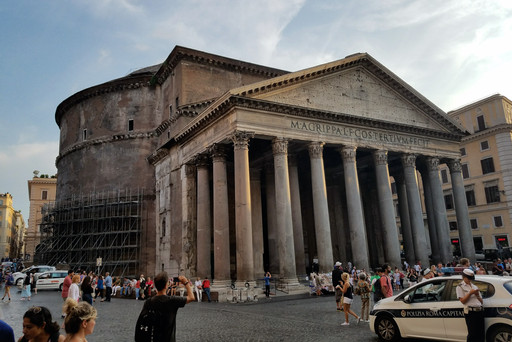 Whirlwind visit to the Pantheon