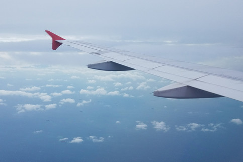 The flight from Chiang Mai