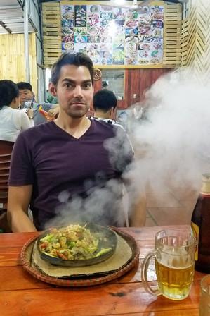 Steamy dinner