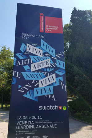 We happened to be there during the Venice Biennale, a huge international art show that takes place every two years.