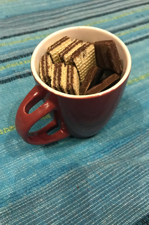 Snack mug I made to accompany an episode of Game of Thrones