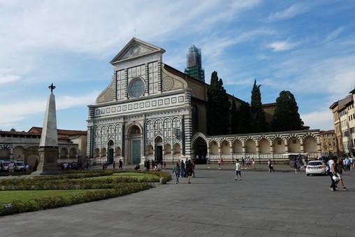 Santa Maria Novella, where we met our walking tour group