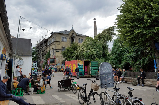 No cars are allowed in Christiania.