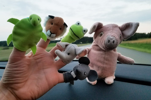 ...we bought finger puppets.