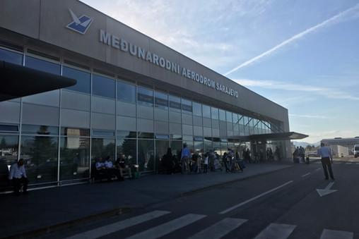 The Sarajevo airport