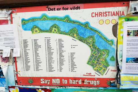 A map of Christiania