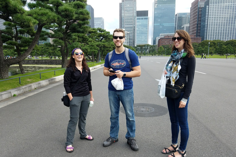 Walking around the Imperial Palace