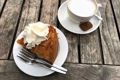 Our Airbnb was right by a famous Dutch apple pie place, Winkel. It's really more like cake with lots of apples in it —SO delicious. It's my goal to recreate it someday.