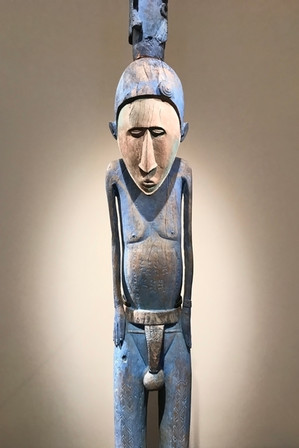 Our favorite thing at the Louvre was the African art collection