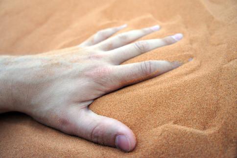 Sahara sand: so fine