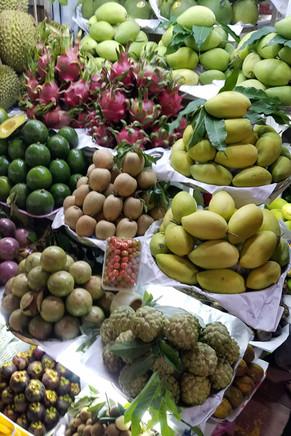 Fruit at the big market
