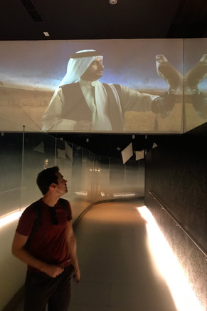 The marketing video for the Burj Khlalifa featured this guy with a falcon.