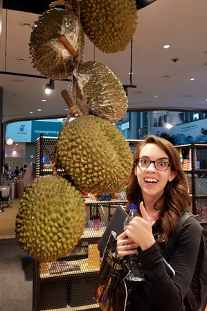 So excited about durian!