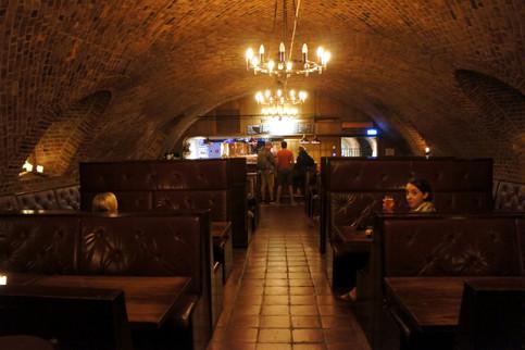 Underground brewery