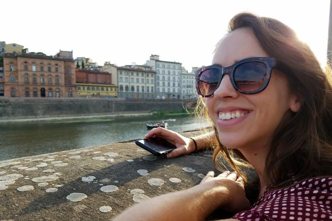Enjoying the Arno