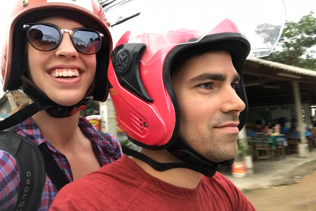 We had a blast riding around the island (after we got more comfortable with the bike, that is).
