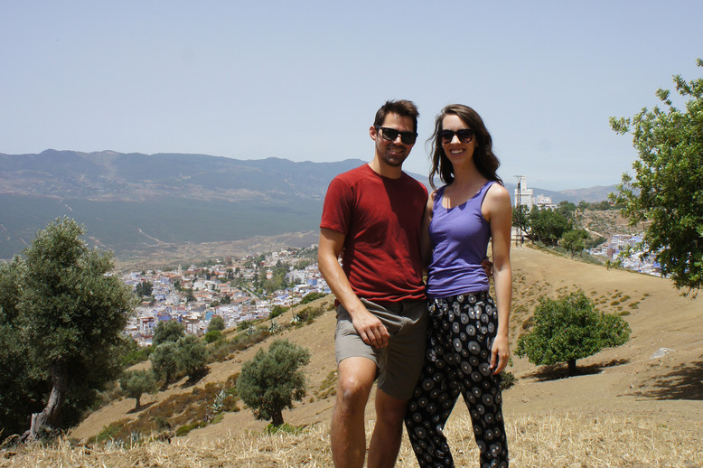 The hike was fairly strenuous (it was so hot!) but the views were worth it.