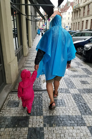 The most adorable rain coat