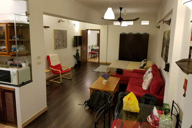 We booked this apartment for three nights, then kept extending for a whole week!