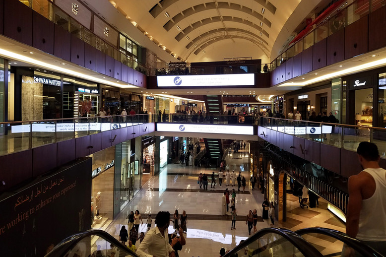 More of the mall