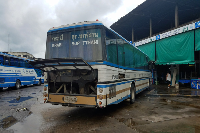 We took this bus from Surat Thani