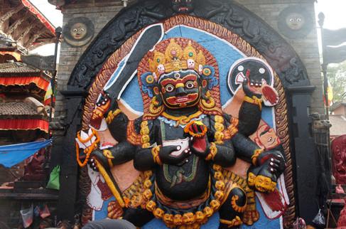 Kali, goddess and divine protector