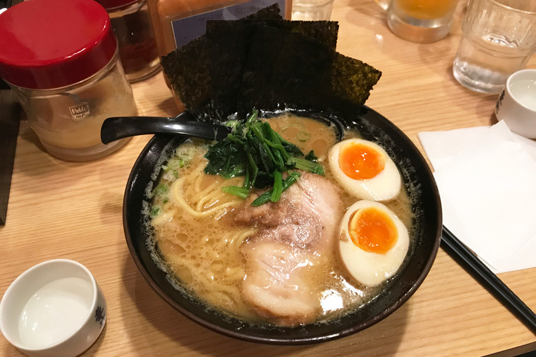 This place had excellent tonkatsu ramen.