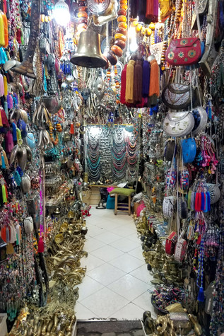 There were shops like this all over the place.